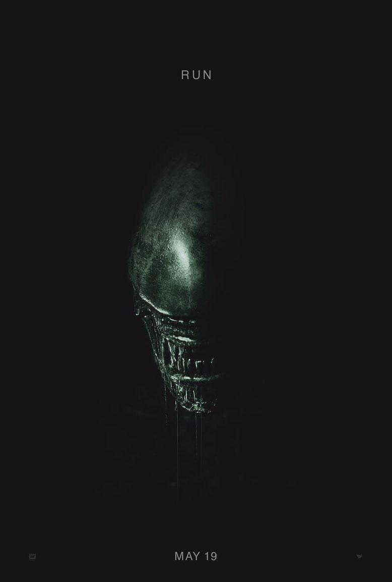 Kino-Plakat zu Alien Covenant. Bilderquelle: 20th Century Fox
