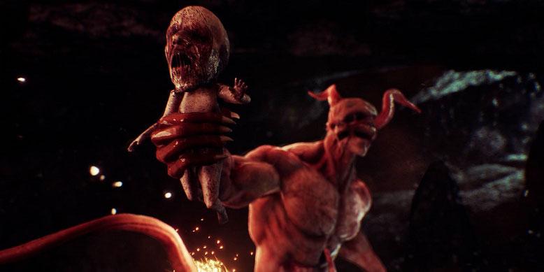 Von der E3 2017 erreicht uns ein 12 Minuten langes Gameplay-Video zu dem Horrorspiel Agony. Bilderquelle: Madmind Studio