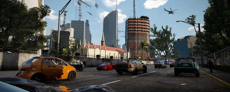 GTA 6 Open World Game auf Unreal Engine 4