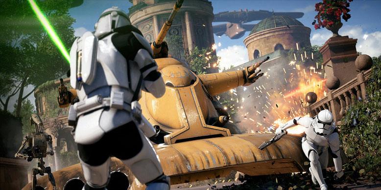 Alles Wissenswerte zu Star Wars Battlefront 2 im neuen Video mit John Boyega präsentiert. Bilderquelle: Electronic Arts
