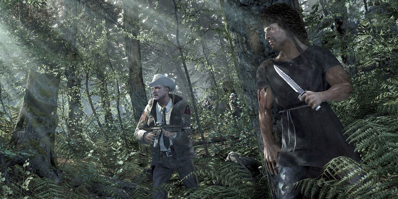 Im Kinofilm-Reboot Rambo 5: New Blood wird Sylvester Stallone nicht mehr vertreten sein. Bilderquelle: Teyon