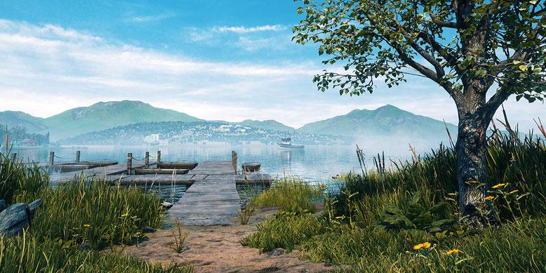 Vestige of the Past bietet eine offene, wunderschön gestaltete Spielwelt. Bilderquelle: Fineway Studios