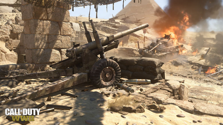 Call of Duty WW2 DLC The War Machine Screenshots
