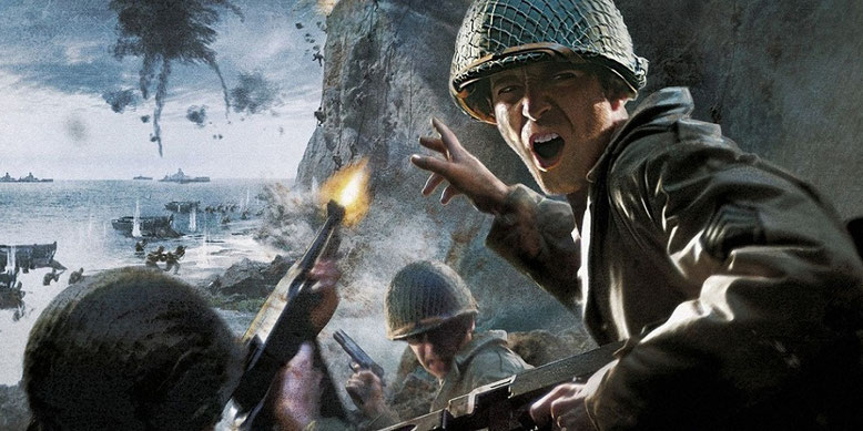 Zu Call of Duty 2017: WW2 sind die ersten Screenshots versehentlich veröffentlicht worden. Bilderquelle: Activision