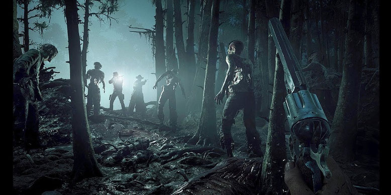 Hunt: Showdown im neuen Early Access Gameplay Trailer mit brandneuen Spielszenen des Survival-Shooters. Bild: Crytek