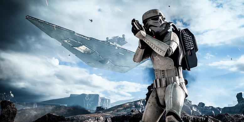 Die Zeichen für eine Singleplayer-Kampagne in Battlefront 2 stehen mehr als gut. Bilderquelle: Electronic Arts