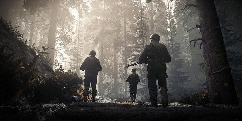 In Call of Duty WW2 wird es standardmäßig nicht möglich sein, dauerhaft zu sprinten. Bilderquelle: Activision