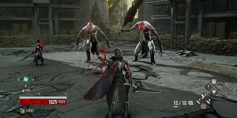 Die Waffen aus Code Vein im neuen Video mit frischen Gameplayszenen vorgestellt. Bilderquelle: Bandai Namco