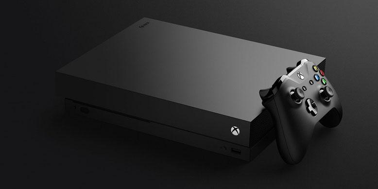 Die Xbox One X erscheint auch als limitierte Project Scorpio Edition im europäischen Handel. Bilderquelle: Microsoft