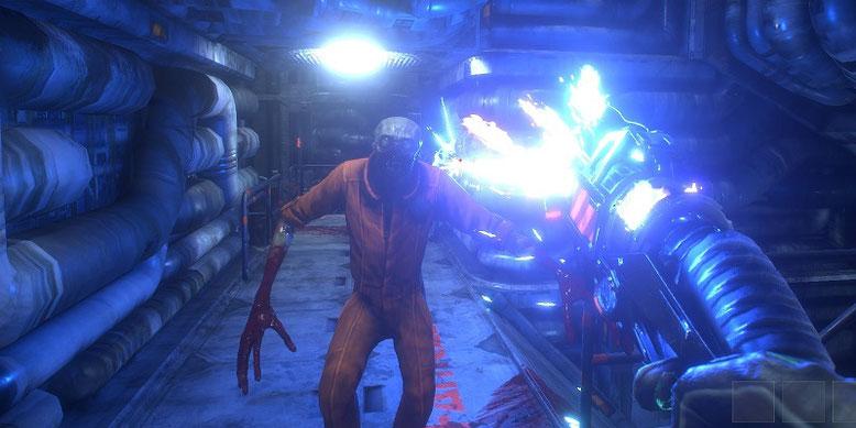 Die Veröffentlichung des Remakes von System Shock wurde auf unbestimmte Zeit verschoben. Der Release erfolgt definitiv nicht mehr 2018. Bilderquelle: Nightdive Studios