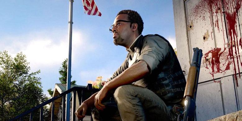 Neue Bilder zu Far Cry 5 zeigen den Anführer der Sekte samt Gefolgschaft und den Widerstand. Bilderquelle: Ubisoft