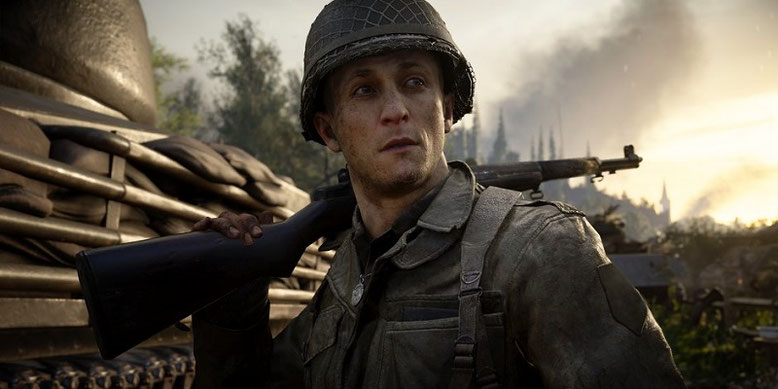 Alle Infos zum Release von Call of Duty WW2 im neuen Video präsentiert. Das Actionspiel ist für PC und Konsolen im Handel erhältlich. Bilderquelle: Activision