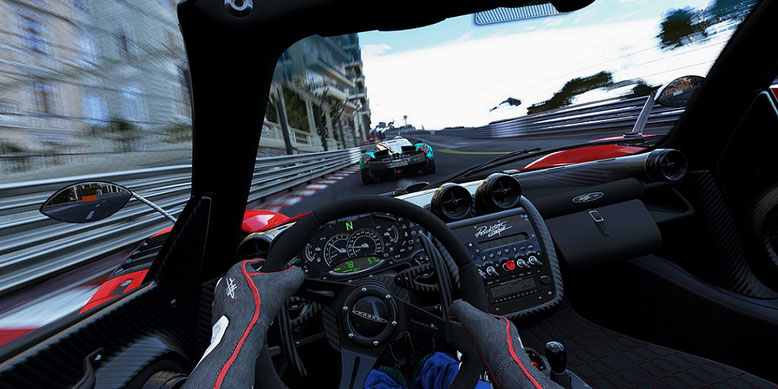 Rasante Gameplay-Videos zur Spielekonsole Xbox One X von Microsoft zeigen NfS Payback, Project Cars 2 und F1 2017.
