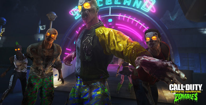 Call of Duty: Infinite Warfare - Zombies in Spaceland im Gamescom-Trailer