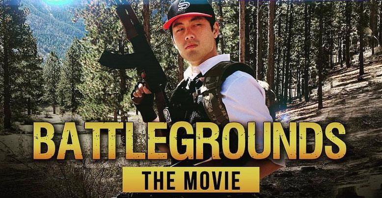 Im PUBG Battlegrounds: The Movie Trailer von Ryan Higa und Sean Fujiyoshi geht es lustig zur Sache. Bild: Facebook/higatv
