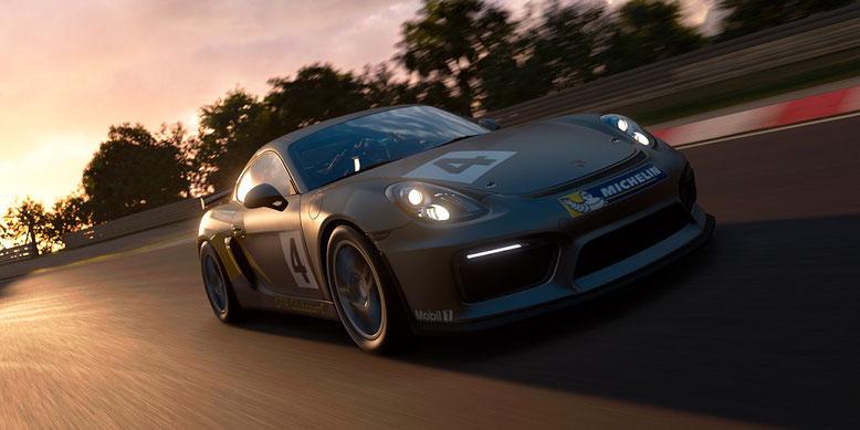 Auch die Automarke Porsche gehört zum Fuhrpark von Gran Turismo Sport für PlayStation 4 dazu. Bilderquelle: Sony
