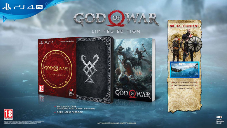 God of War PS4 Limited Edition