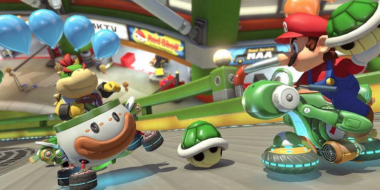 Deutscher Overview-Trailer zu Mario Kart 8 Deluxe für Nintendo Switch erschienen. Bilderquelle: Nintendo