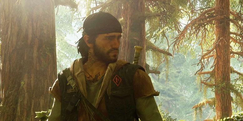 Das auf der Unreal Engine 4 aufbauende Action-Adventure Days Gone erscheint 2018 im weltweiten Handel. Bilderquelle:  Sony Interactive Entertainment
