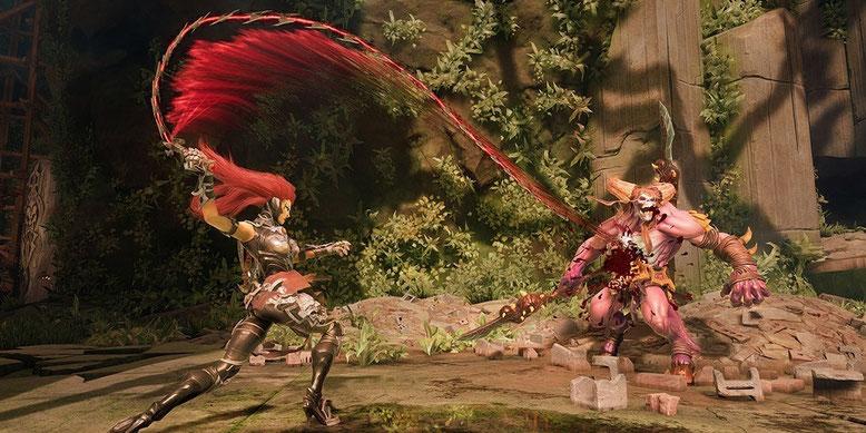Erstes Gameplay-Video zu Darksiders 3 enthüllt. Bilderquelle: THQ Nordic