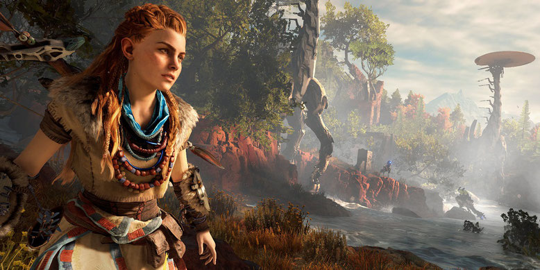 Horizon Zero Dawn PS4 Pro Gameplay
