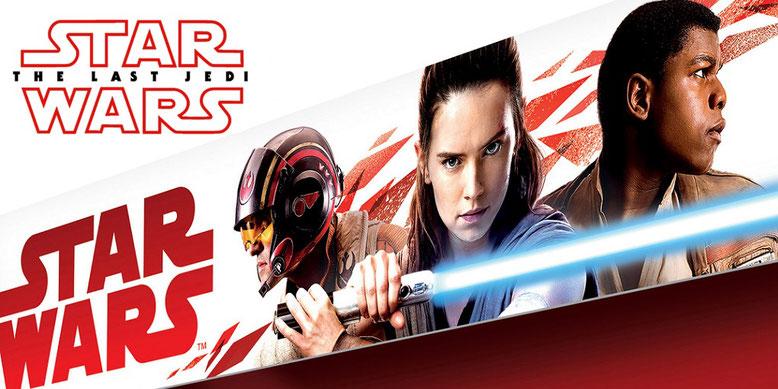 Episode 8 erscheint in Deutschland unter dem Namen Star Wars: Die letzten Jedi in den Kinos. Bilderquelle: StarWars.com