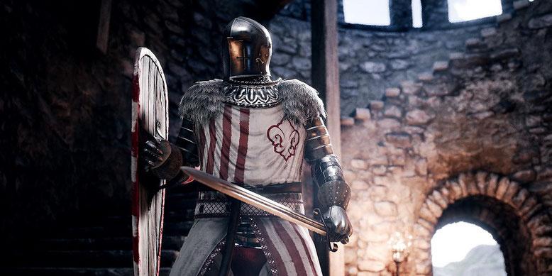Der Action-Slasher Mordhau auf Basis der Unreal Engine 4 ist ab sofort auf Kickstarter vertreten. Bilderquelle: Triternion