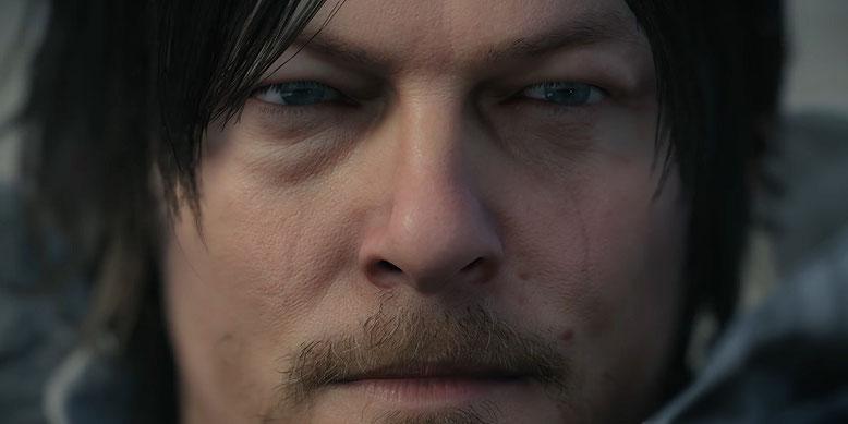 Der The Walking-Dead-Schauspieler Norman Reedus fungiert in dem Actionspiel Death Stranding als Hauptakteur. Bilderquelle: Sony Interactive Entertainment