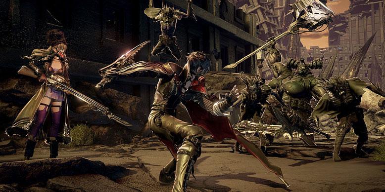 Erste Unreal-Engine-4-Gameplay-Screenshots zu Code Vein, dem neuen Actionspiel von Bandai Namco.