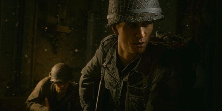 Wegen Hakenkreuze in Call of Duty WW2 wird die deutsche Version des Shooters geschnitten. Bilderquelle: Activision