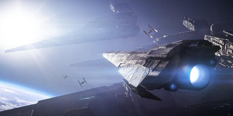 Kurz vor der gamescom 2017 sind erste Details zur Battlefront 2-Demo der Spielemesse enthüllt worden. Bilderquelle: EA