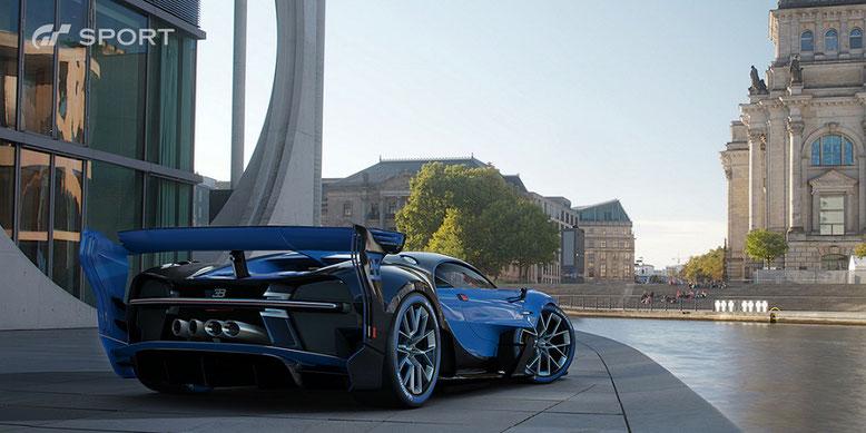 Die Wagenmodelle in Gran Turismo Sport für PS4 sollen auch die nächste Konsolengenration überstehen. Bilderquelle: Sony