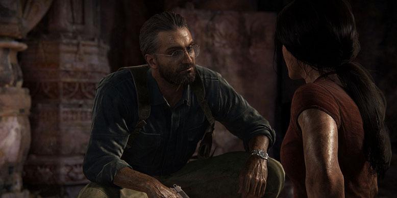 Uncharted: The Lost Legacy für PS4 zeigt sich im erweiterten Gameplay-Video der E3-Demo. Bilderquelle: Sony