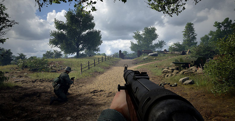 Der WW2-Shooter Hell Let Loose baut auf der Unreal Engine 4 aus dem Hause Epic Games auf. Bilderquelle: Black Matter