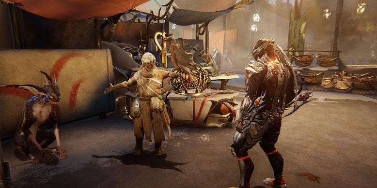 Warframe erhält mit Plains of Eidolon eine offene Spielwelt, die noch in diesem Jahr erscheint. Bilderquelle: Digital Extremes