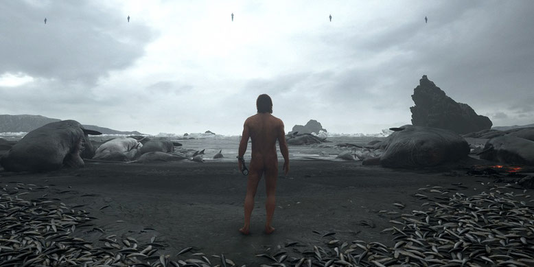 Die Grafikeffekte des Actionspiels Death Stranding auf Basis der Decima Engine im Fokus eines neuen Videos. Bilderquelle: Sony Interactive Entertainment