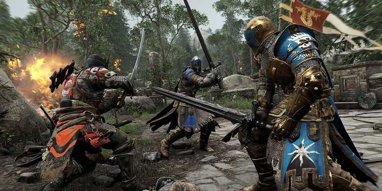 Neues For Honor Gameplay-Video von der Gamescom 2016. Bilderquelle: Ubisoft