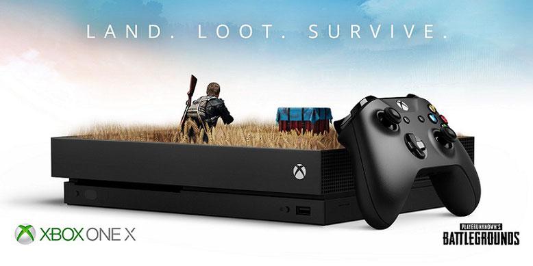 Das offizielle Artwork zu der Konsolenfassung von PUBG ist der originalen Fan-Version für Xbox One X sehr ähnlich. Bilderquelle: Microsoft