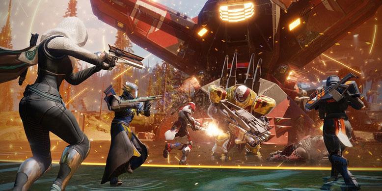 Im neuen offiziellen Trailer zu dem kommenden Actionspiel antwortet Bungie auf die Frage: Was ist Destiny 2? Bild: Activision
