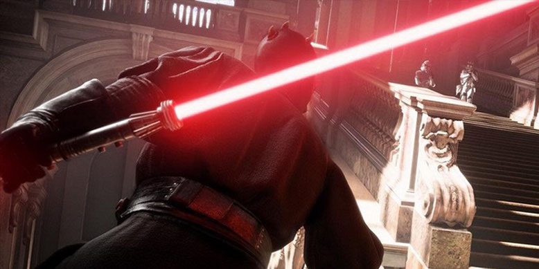 Darth Maul in der Beta von Star Wars Battlefront 2 freigeschaltet. Im neuen Gameplay tötet er 34 Gegner. Bilderquelle: EA