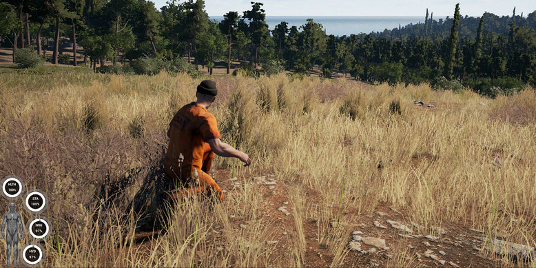Das Multiplayer Open World Survival Game Scum im neuen Video. Bilderquelle: Devolver Digital