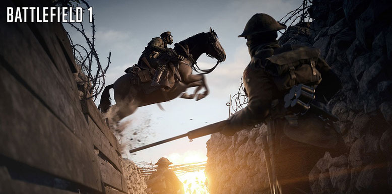 Battlefield 1 Gamescom-Video mit Perde-Gameplay und Sandsturm