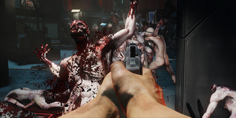 Killing Floor 2 PS4 Pro 4K Gameplay Video