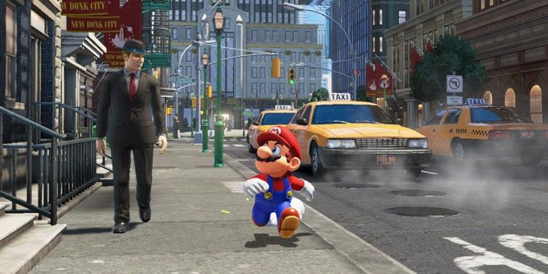 Super Mario Odyssey im Test bei EDGE