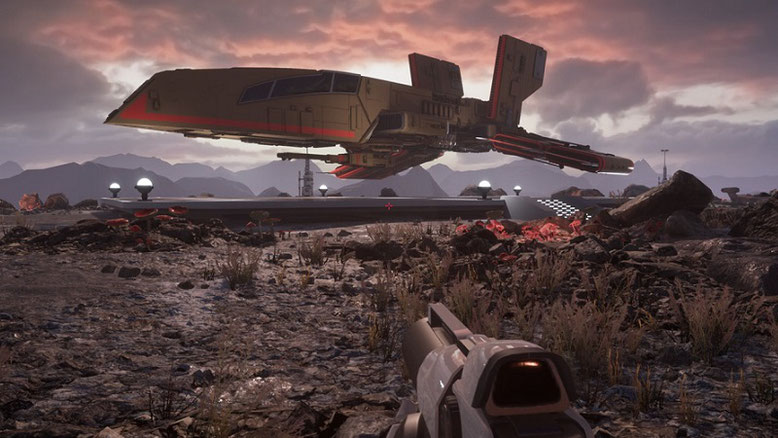 Das Fan-Remake von Level 1 zu Star Wars: Dark Forces auf Basis der Unreal Engine 4 zeigt sich auf neuen, beeindruckenden Screenshots. Bilderquelle: Jason Lewis