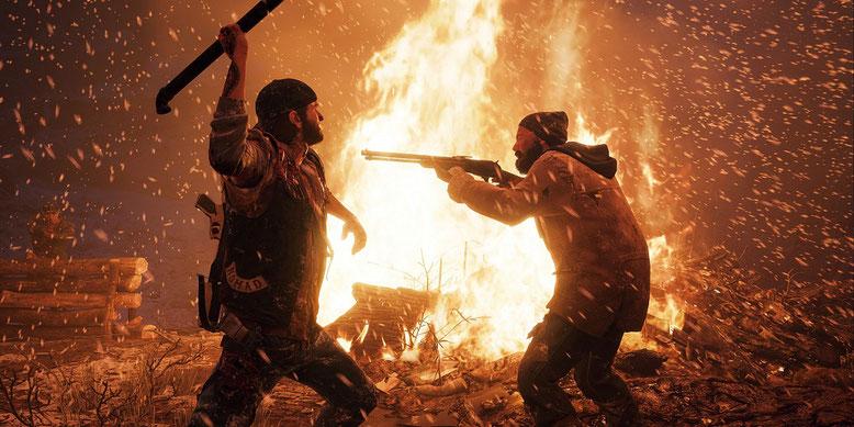 Ein neues Gameplay-Demo-Video zu Days Gone zeigt einen alternativen Pfad zum E3-Walkthrough. Bilderquelle: Sony