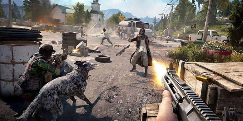Far Cry 5 offiziell mit Trailer, Gameplay-Screenshots, Details und Release-Termin angekündigt. Bilderquelle: Ubisoft