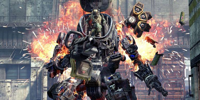 Neues Video zu Titanfall 2 zeigt die Titanen aus dem Shooter. Bilderquelle: Electronic Arts