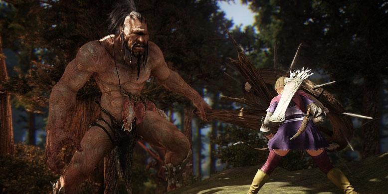 Das MMORPG Black Desert Online bekommt einen grafischen Anstrich spendiert. Bilderquelle: Pearl Abyss