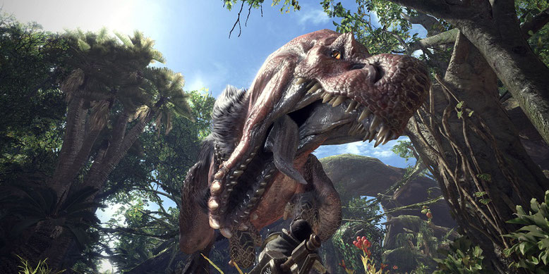 Frisch aus San Diego erreicht uns ein neues Gameplay-Video von Monster Hunter World zu den Waffen. Bilderquelle: Capcom